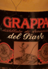 Grappa Distillato di Vinaccia del Piave