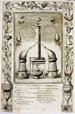 The alembic still over the ages