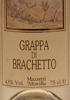 Grappa di Brachetto