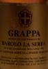 Grappa ottenuta con Vinacce da Barolo La Serra