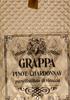 Grappa Pinot Chardonnay Puro Distillato di Vinaccia