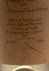Grappa di Cabernet - distillata Il 15 Ottobre 1990