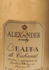 Alexander Society Grappa Cabernet