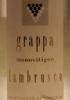Grappa Monovitigno Lambrusco