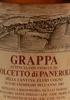 Grappa ottenuta con Vinacce da Dolcetto di Panerole