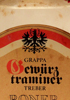 Grappa GewurzTraminer - Treber