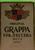 Original Grappa Strvecchia Secca Export Hard