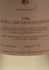 Grappa Camp Gros Martinega 1986