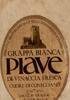 Grappa Bianca Piave