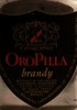 Oro Pilla Brandy
