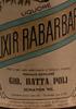Elixir Rabarbaro - Liquore
