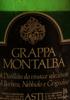 Grappa Montalba Vinacce di Barbera, Nebbiolo e Grignolino