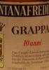 Fontanafredda Grappa 10 Anni Vinacce Nebbiolo da Barolo