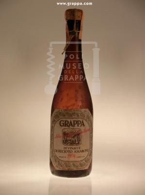 Grappa di Vinacce di Recioto Amarone 1974