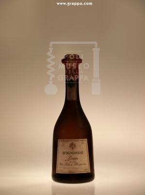 Grappa da Uve di Vino Nobile di Montepulciano