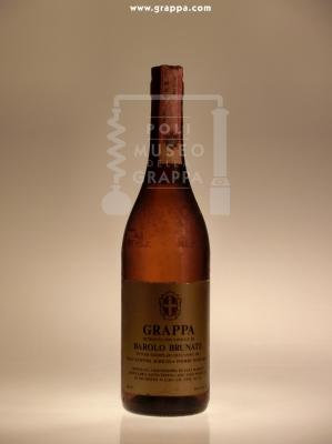 Grappa ottenuta con Vinacce da Barolo Brunate