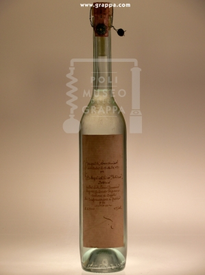 Grappa di Marzemino - distillata Il 13 Ottorbre 1990