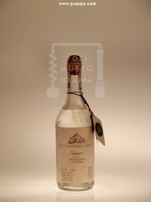 Grappa di Vinaccia di Grignolino La Fiorita