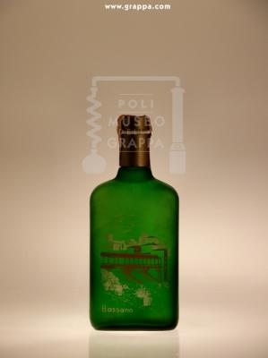 Bassano Fine Grappa Cristal di Pura Vinaccia Invecchiata 3 Anni In Fusti di Rovere