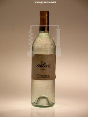 Grappa Le Sincette 1985