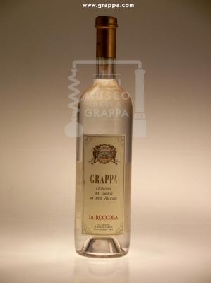 Grappa - Distillato da Vinacce di Uva Moscato La Roccola