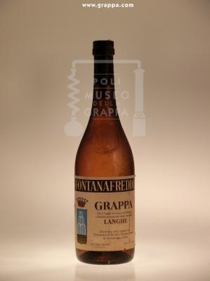 Fontanafredda Grappa Fine Grappa di Vinacce di Barbera e Dolcetto provenienti dalla Zona delle Langhe