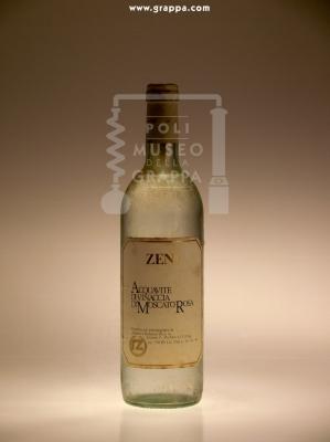 Acquavite di Vinaccia di Moscato Rosa