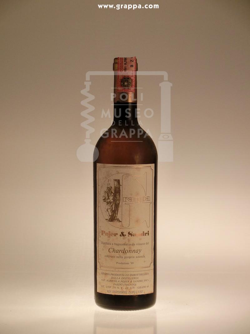 Grappa distillata a bagnomaria da Vinacce del Chardonnay