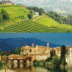 Veneto tour: Bassano del Grappa and Prosecco area