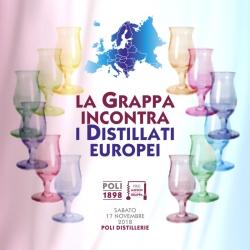 Grappa meets the European distillates | Poli Distillerie 17.11.2018