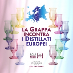 Grappa meets the European distillates | Poli Distillerie 17.11.2018