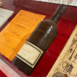 The first single-variety Grappa of the Poli Grappa Museum