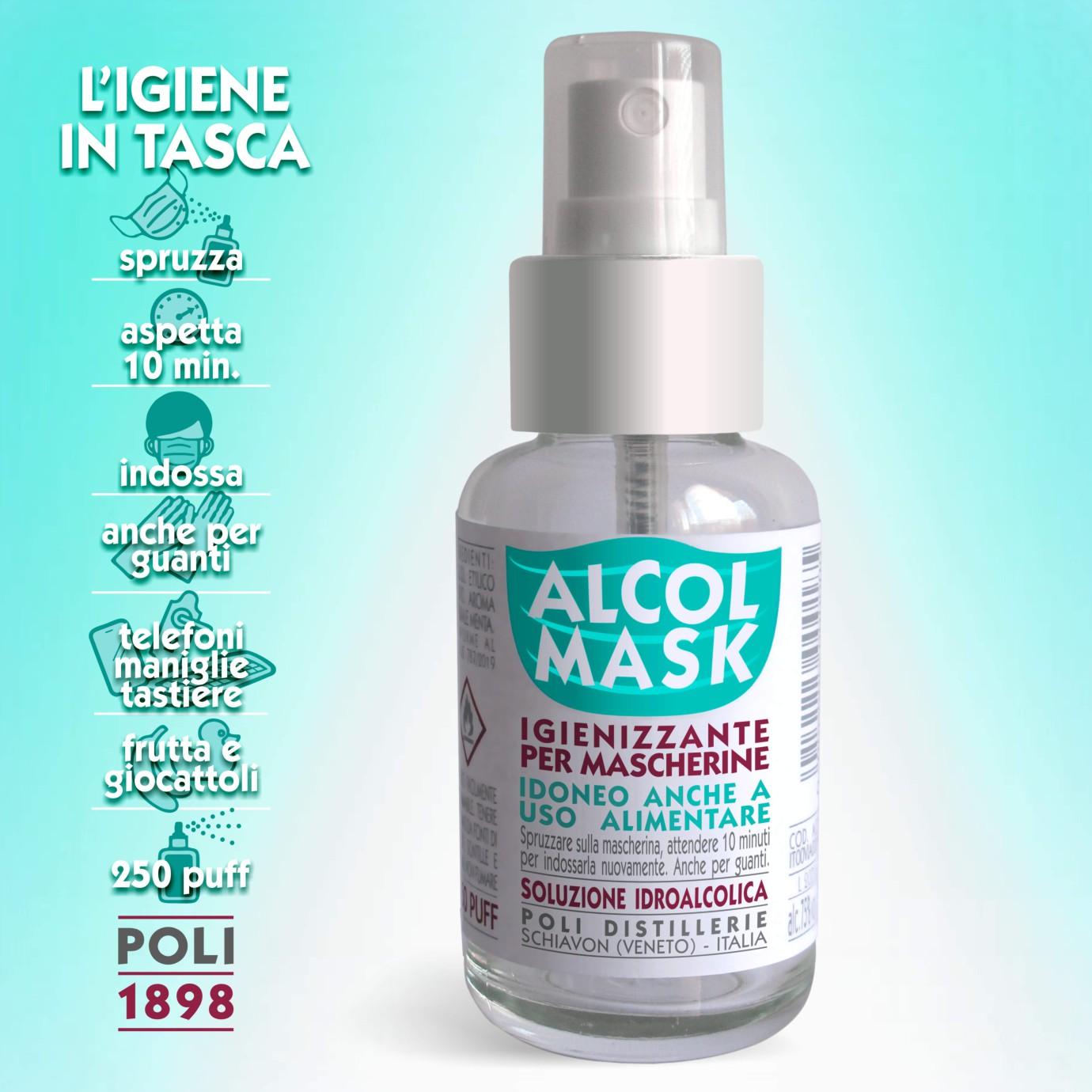 Trattamento Legno Per Uso Alimentare alcol mask: dalle poli distillerie lo spray per il